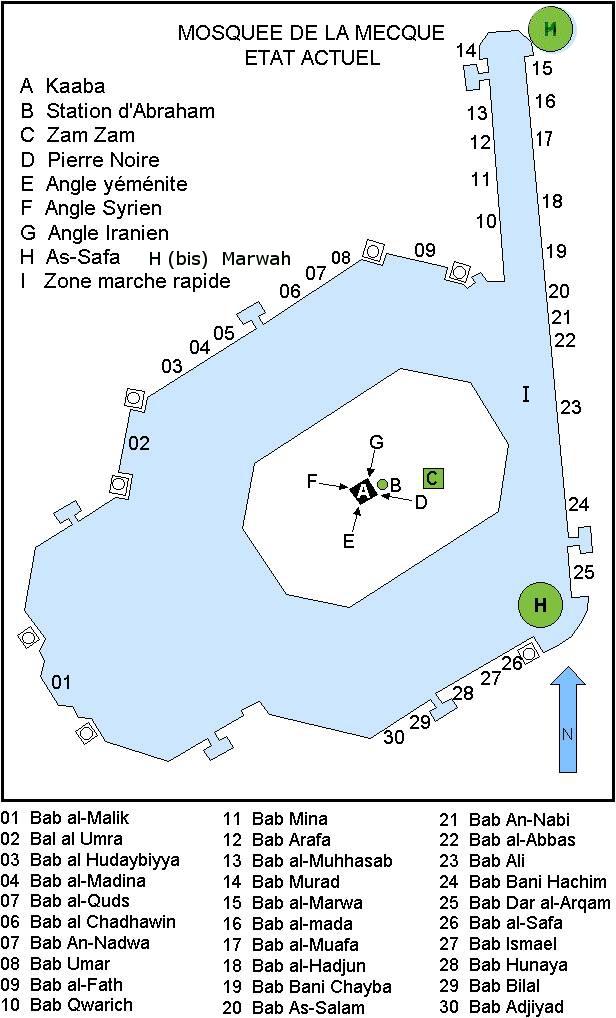 Plan Mosquée Kaaba